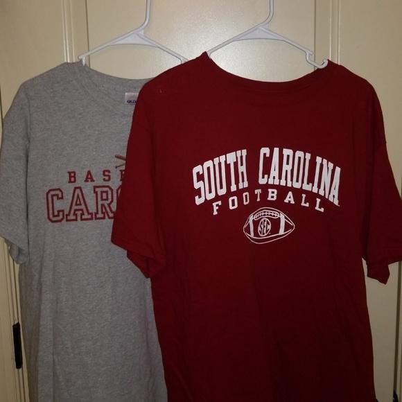 c2e391533 Champion Shirts | South Carolina Football Baseball Tshirt Lot | Poshmark